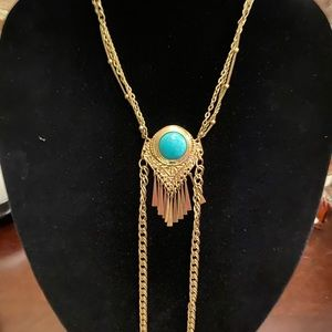 Good and turquoise necklace